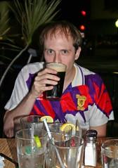 Random Scotland shirt down the pub in Gainesville?!? (citizenswaine) Tags: shirt scotland top gainesville calvin strip citizenswaine