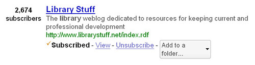 10152007LibraryStuffSubscribersOnGooglereader
