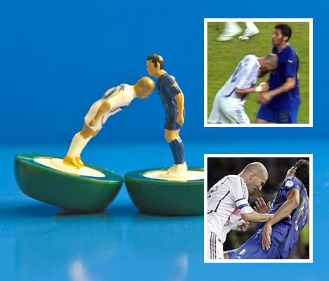 Zidane Head Butts Materazzi