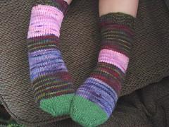 Gooey's new socks