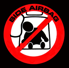"""Side Airbag ((Concepts by) Nicholas Daniel """"@tak"""" Lopez) Tags: red people black fall yellow dumpster truck children fire fan stand pain hurt do child hand risk head cut seat side fingers injury fork an safety falling help dont stop slice impact caution damage stick ladder airbag guide exit crush extinguisher figures prevention guides bump peril seatbelt forklift refrigerate guidelines recommended instructs"""