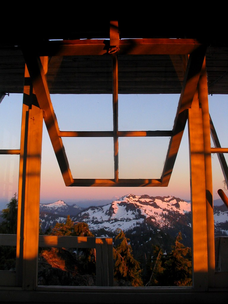 Mt Rainier Window