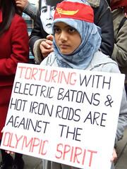 Conviction (lewishamdreamer) Tags: london freedom burma protest hijab myanmar burmese aungsansuukyi prodemocracy burmeseembassy wwwburmacampaignorguk burmacampaignuk