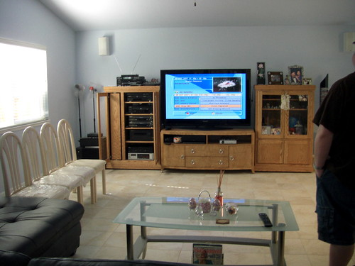 the tv side of the new room