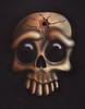 Airbrush - Bullet Skull (Marius Mellebye / 276ccm) Tags: art skull lights drawing teeth ixus marius airbrush ixus500 2007 cracking iwata custompaint mariusmellebye mellebye skulladay 276ccm
