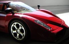 enzo (cope86) Tags: red car toy ride ferrari enzo remotecontrol supercar fura samochod bryka zabawka
