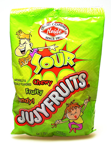 Sour Jujyfruits