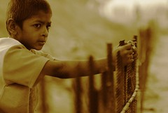 determination (vinay_p (Clicksnbeyond)) Tags: portrait children vinay sabarmati ravivari portraits07