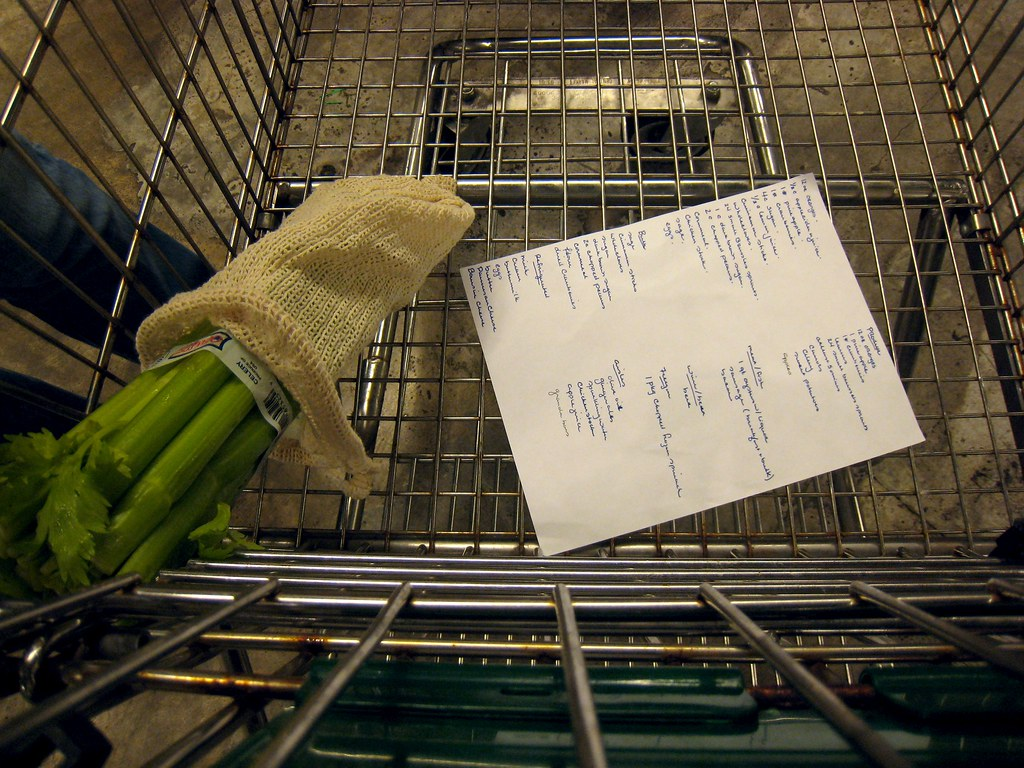 shopping list by BruceTurner, on Flickr