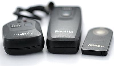 Phottix remote vs Nikon ML-L3, bottom view