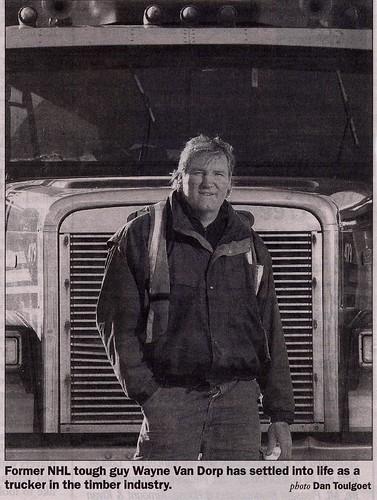 Wayne Van Dorp, trucker
