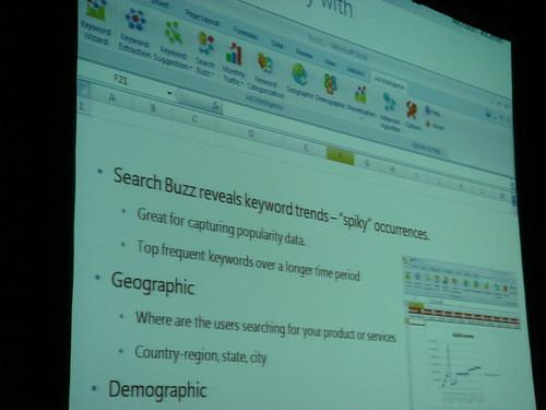 Keyword Services Platform