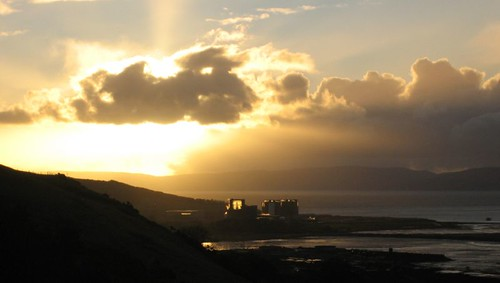 Hunterston sunset