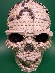 Meet the Maker (monsterbrick) Tags: skull scary lego moc