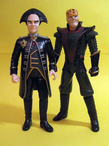 Babylon 5 G'Kar and Londo