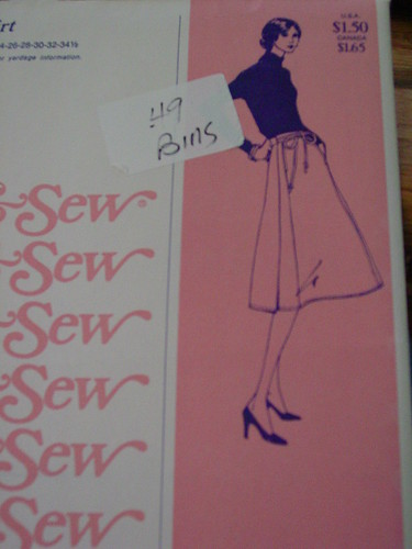 Stretch & Sew - Wrap Skirt #405