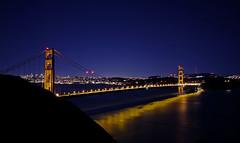 Golden Gate Cliche (After Dark Photo) Tags: sanfrancisco longexposure bridge night icons landmarks fullmoon goldengatebridge sanfranciscobay sfbay instantfave diamondclassphotographer flickrdiamond superhearts photofaceoffwinner