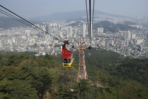 Mt Geumjeong Cable Car Busan