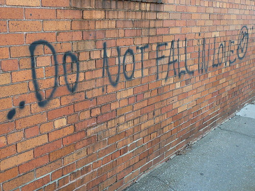 do not fall in love.