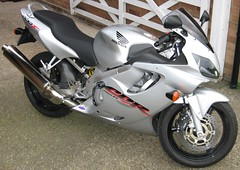 My CBR 600F Side view