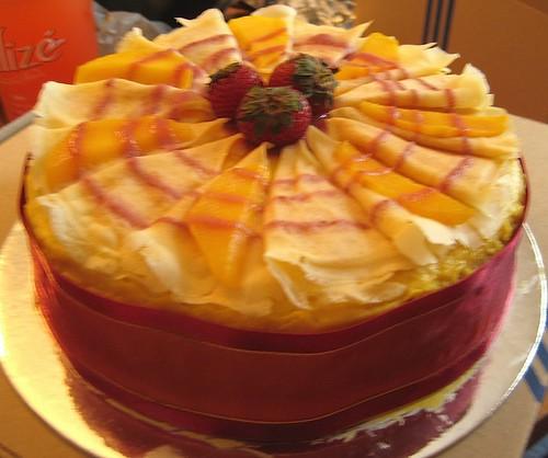 Mango Layer Cake | Château des Rêves