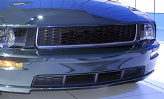 bullit_front_detail (Tom Hutchins) Tags: ford car autoshow international mustang 2008 bullitt naias natio nal