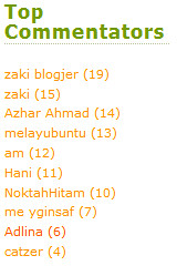 January Taszara's Top Commentator (aizat_subgrenadier) Tags: comment congrats taszara topcommentator