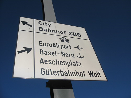 Autobahn, airport or ship?