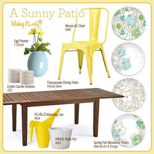 A Sunny Patio