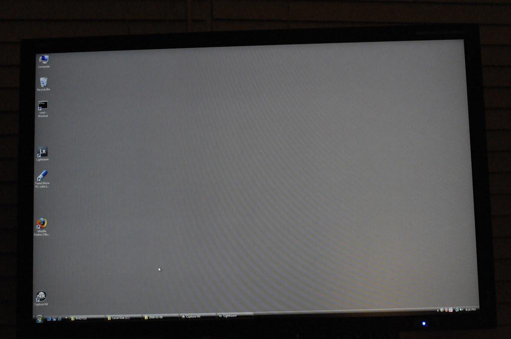 Wavy horizontal lines on new LCD panel: PC Talk Forum