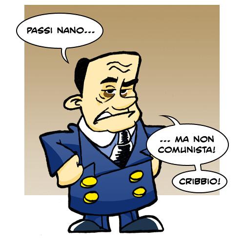 Berlusconi nano svizzero