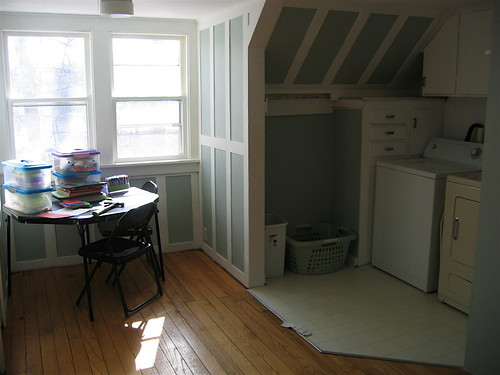 the upstairs rec room