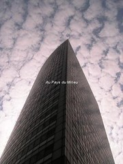 Sail it (Au pays du Milieu) Tags: china clouds bleu ciel sail nuages voile blanc chine immeuble skyscrapper gratte