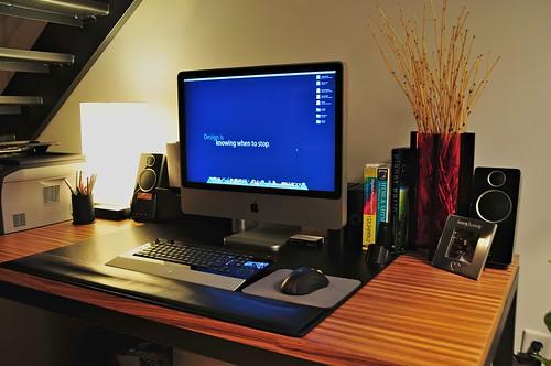 imac компьютерный стол