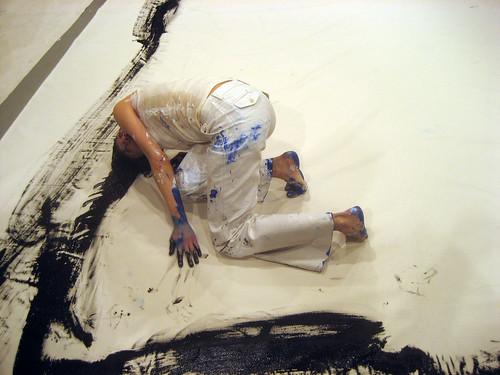 Pintando con la vagina