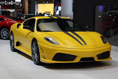 Ferrari F430 Scuderia Yellow. Ferrari F430 Scuderia