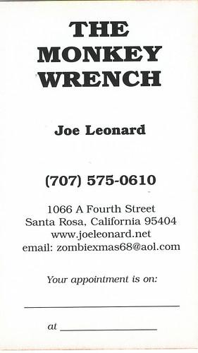 Tattoo Artist Joe Leonard at The Monkey Wrench