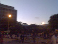 sol nascendo na ECA em uma festeca