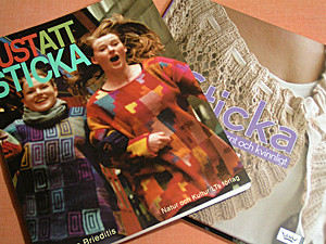 Swedish knitting books