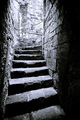 Going Up (markrellison) Tags: uk travel holiday castle up wales stairs steps staircase snowdonia caernarfon