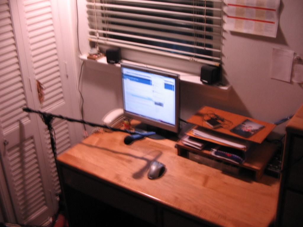 My Desk on 4/2/2008