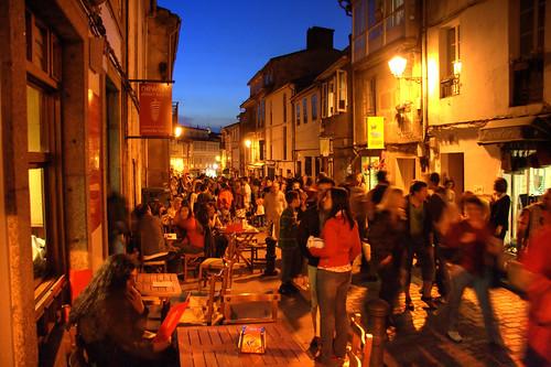 San Pedro festival, Santiago de Compostela (HDR+ noise filter)
