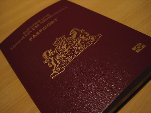 Dutch Passport (model 007)