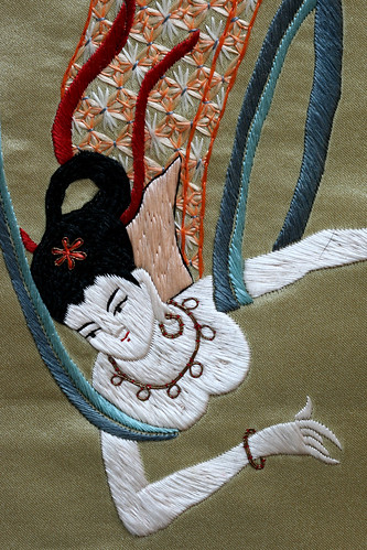 Embroidered detail