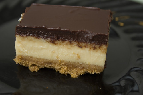 ... one of my recent favorite recipes. Dulce de Leche Cheesecake Squares