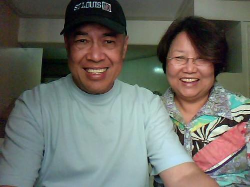 Mom, Dad @ Manila