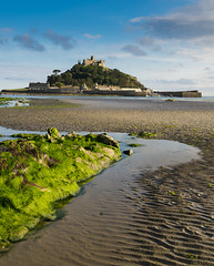 Tidal run to the Mount (Nigel Stride) Tags: cornwall england location stmichaelsmount