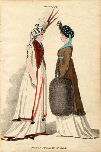London dresses, Winter 1799