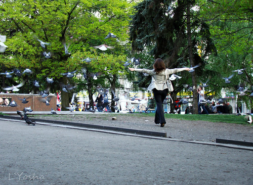 Who says, that people can not fly? ©  L`Yoshka