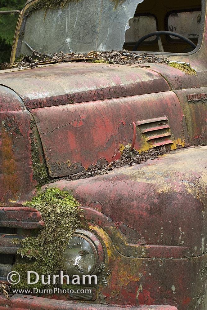 abandoned tanker truck